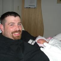 Daddy, Maddi cuddles